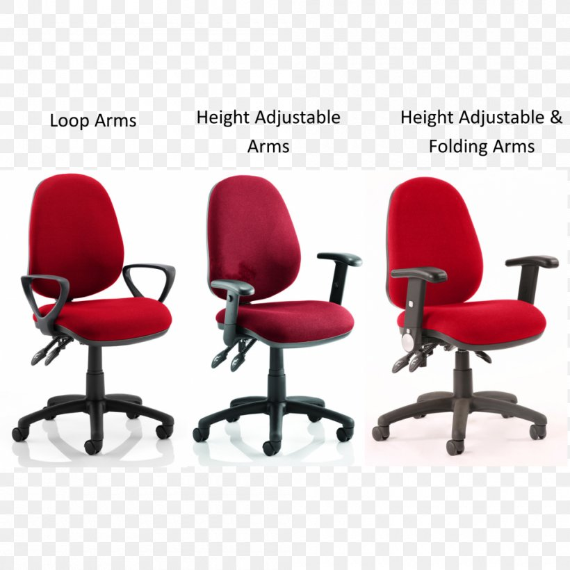 burgundy office chairs
