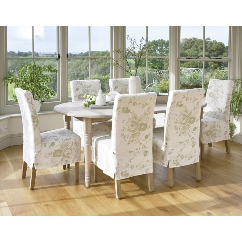 loose dining chair covers