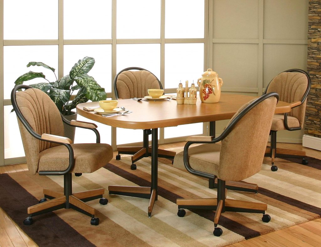 Dining Room Chairs Casters Layjao