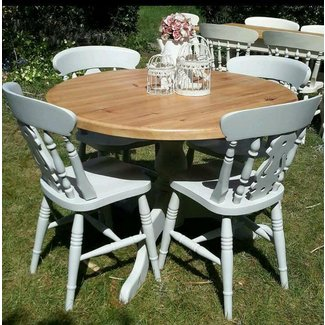 shabby chic dining chairs for sale