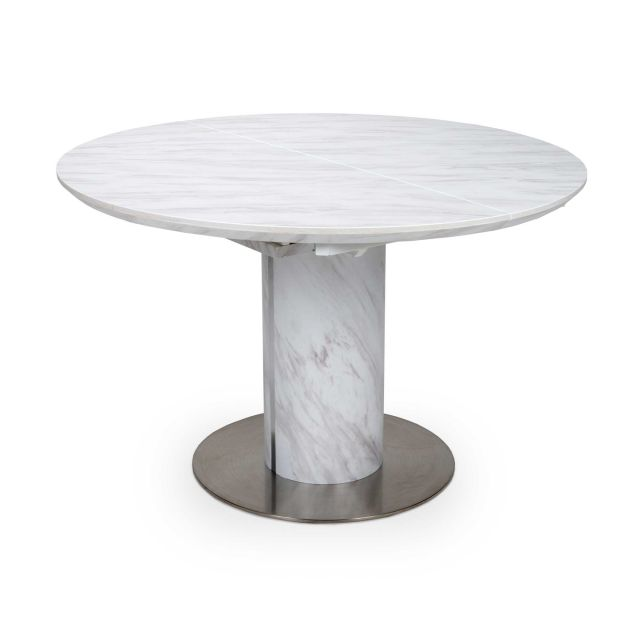 white round dining table for 6
