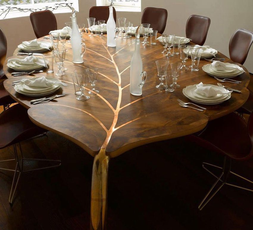 unique wooden dining tables