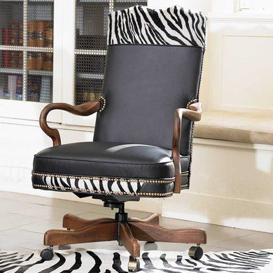king ranch office chair