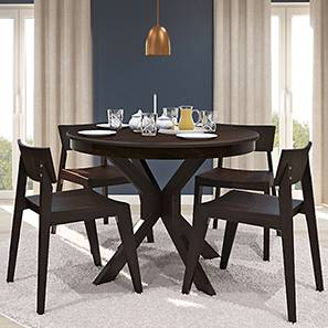 Round 4 Seater Dining Table Sets Check 8 Amazing Designs Buy Online Urban Ladder