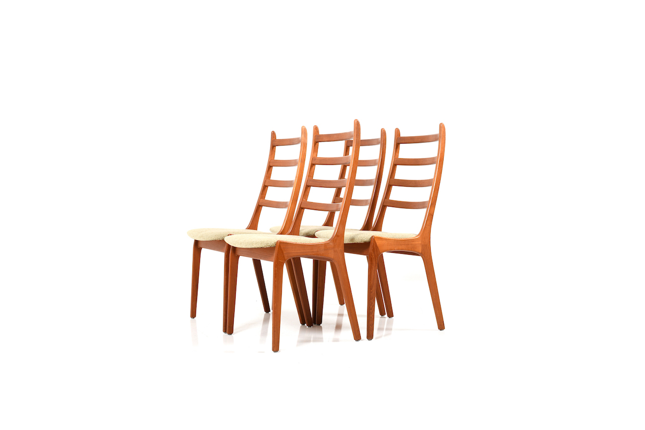 high back wooden dining chairs