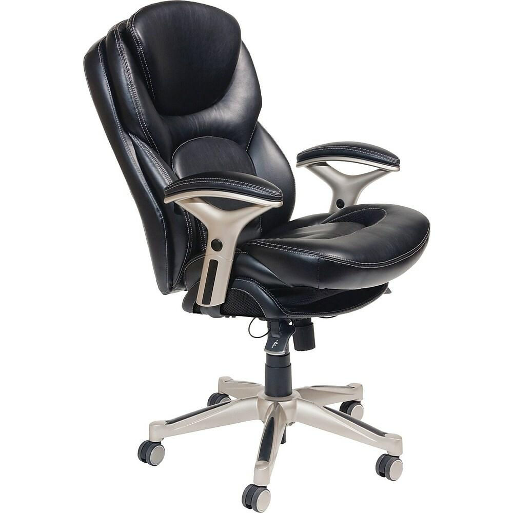 mid back office chairs with arms