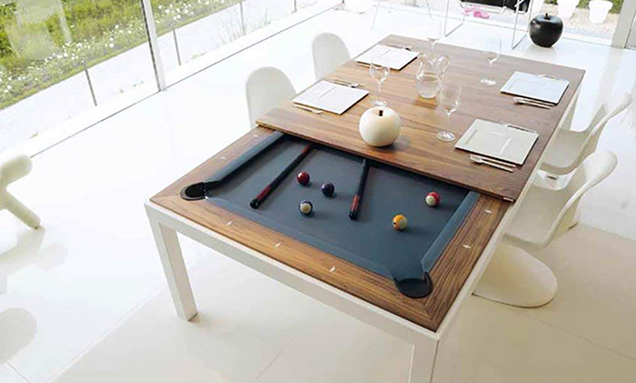 pool table dining table conversion top