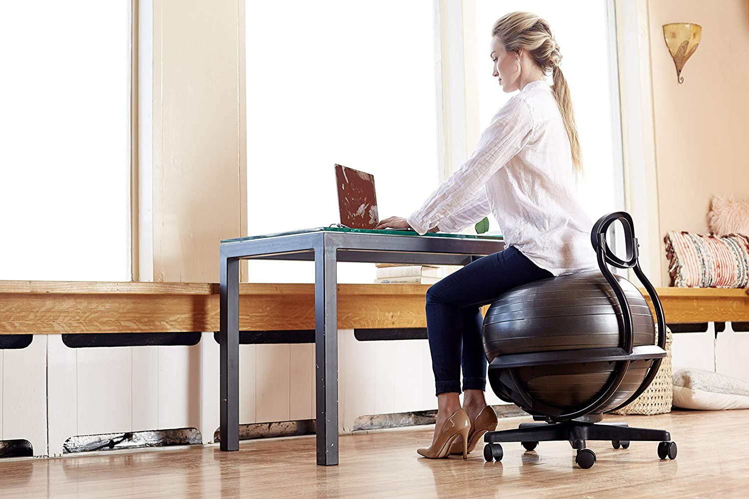 office chair stability ball