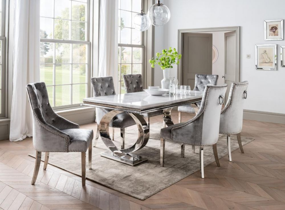 Marble Dining Sets Dining Room Furniture First Furniture