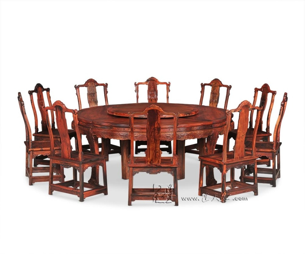 10 chair dining table