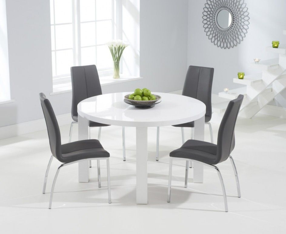 white dining table and bench