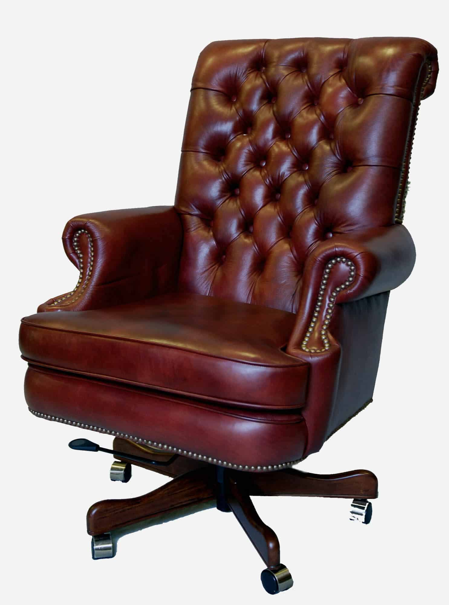used leather office chairs