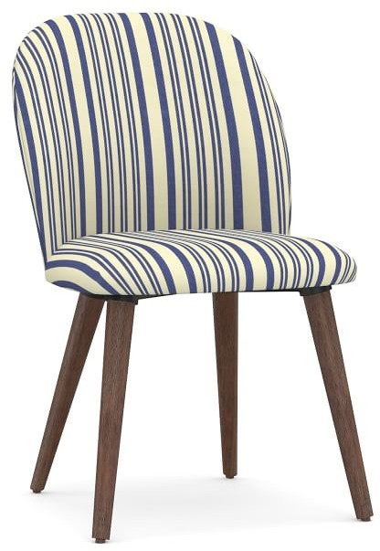 pottery barn upholstered dining chairs