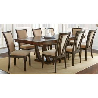 dining room tables and chairs for 10