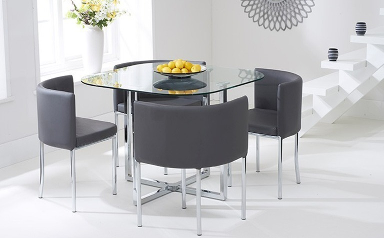 glass dining chairs uk