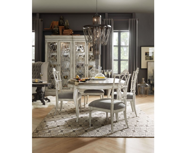 48 inch round extendable dining table