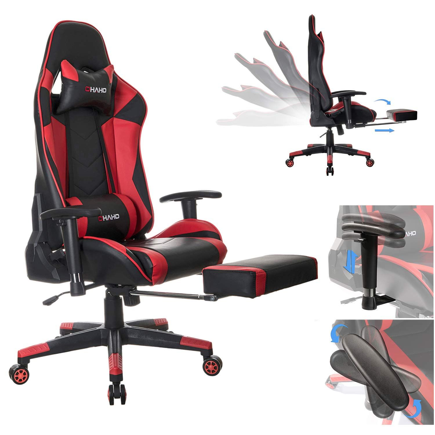 how to adjust lumbar support office chair