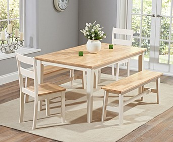bench table dining set