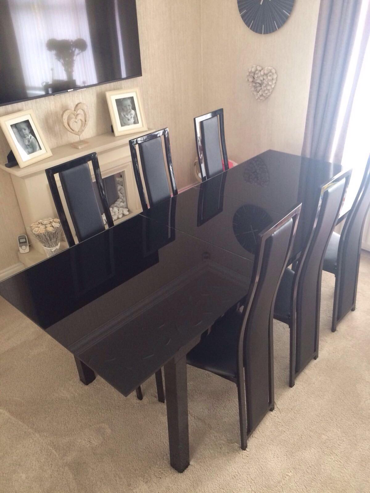 glass dining table set price