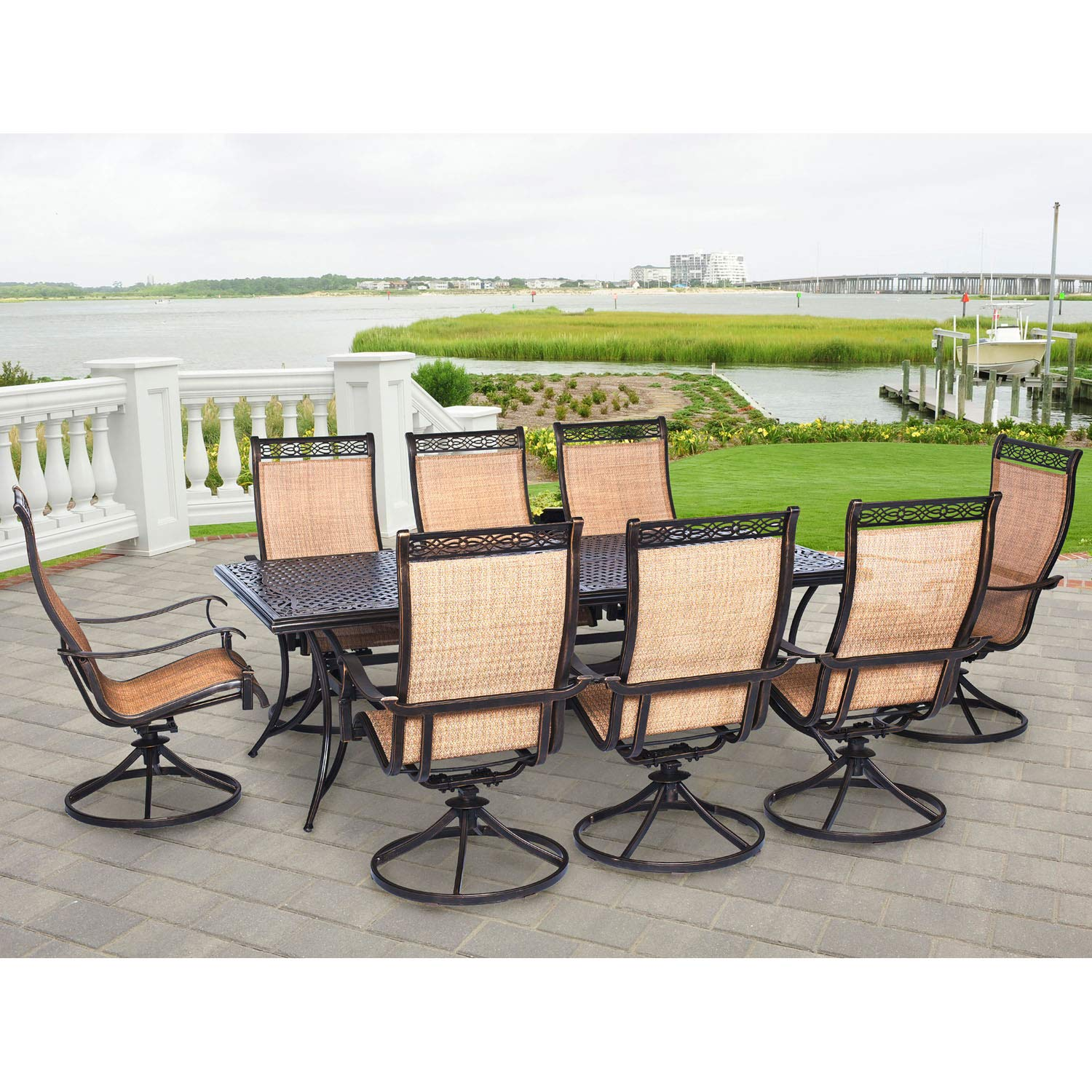 8 chair outdoor dining set