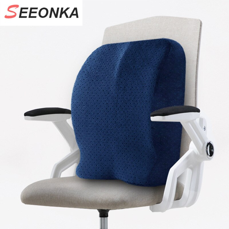 lumbar support pillows for office chairs