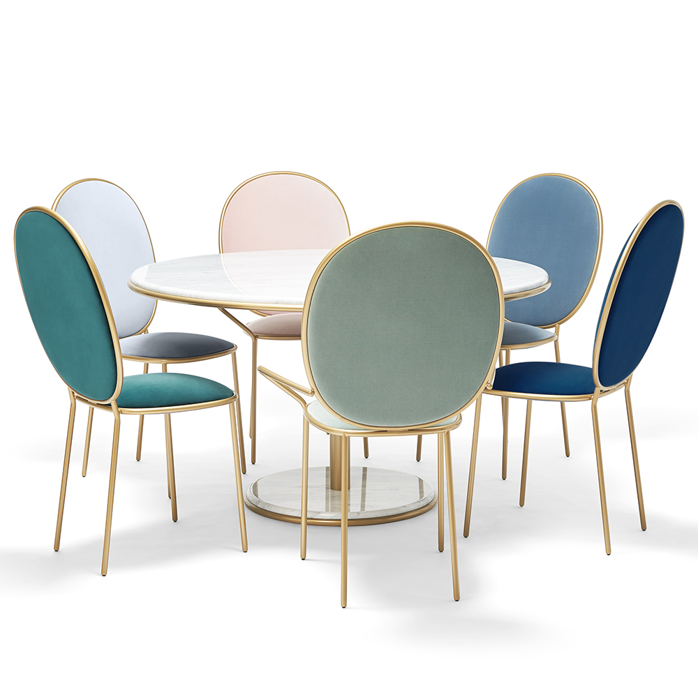 head of table dining chairs