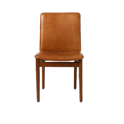 west elm leather dining chair