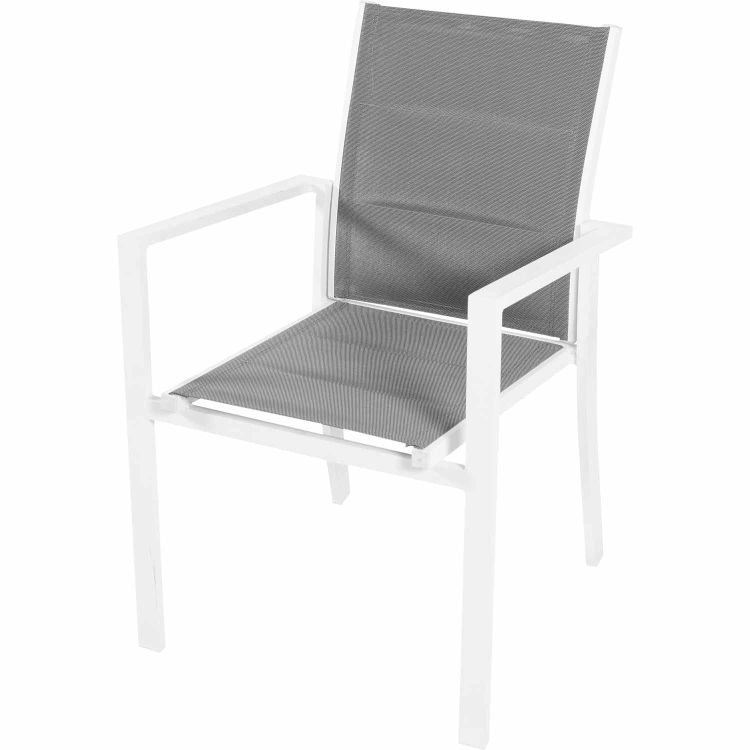 outdoor dining chairs white