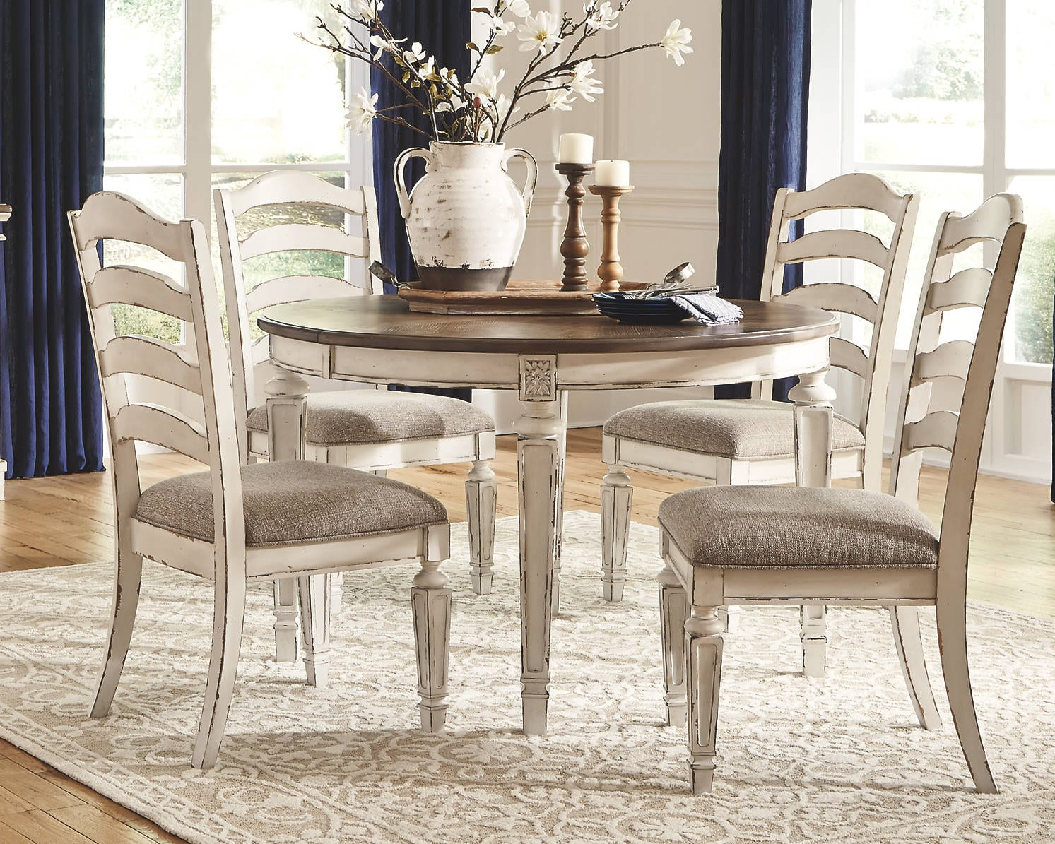 oval shaped dining table designs
