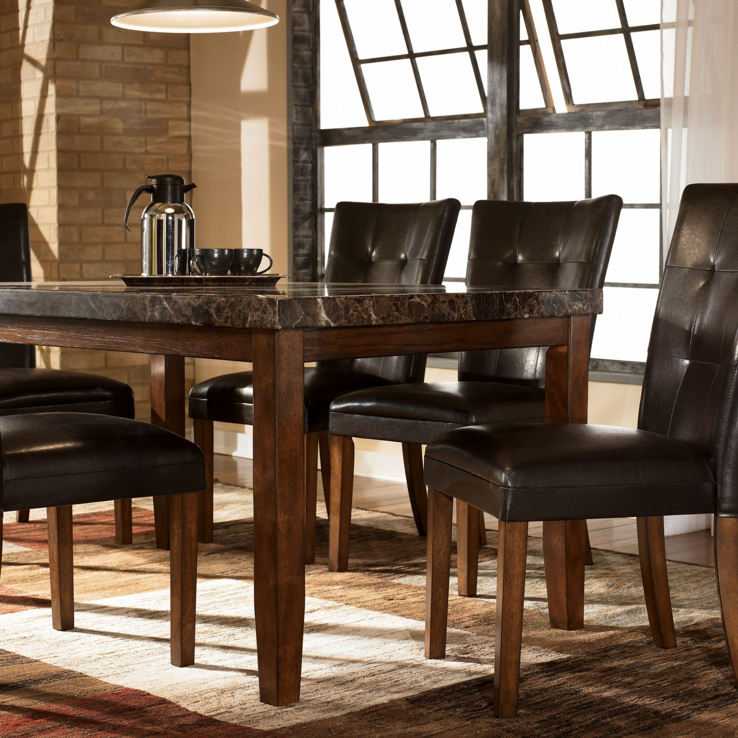 ashley dining room chairs