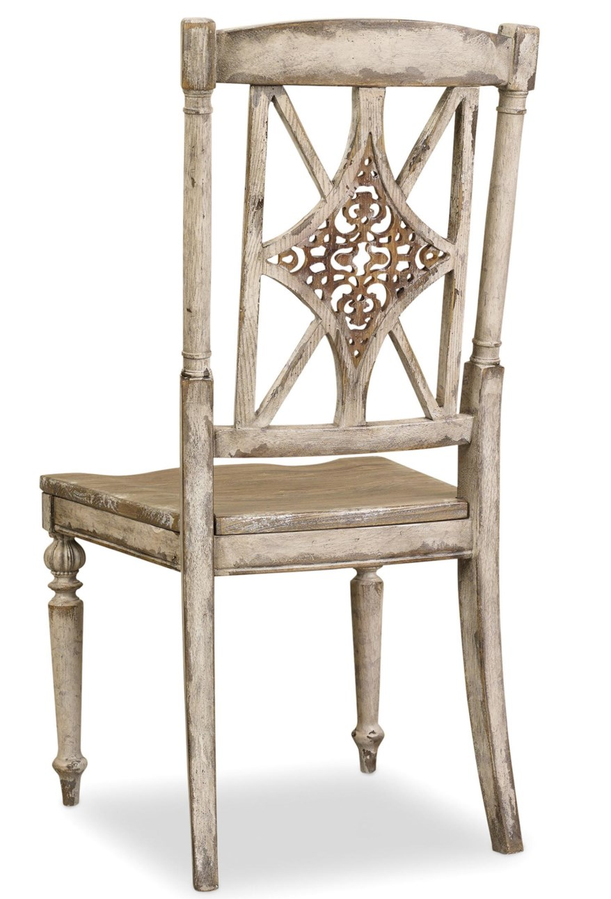 turned leg dining chair