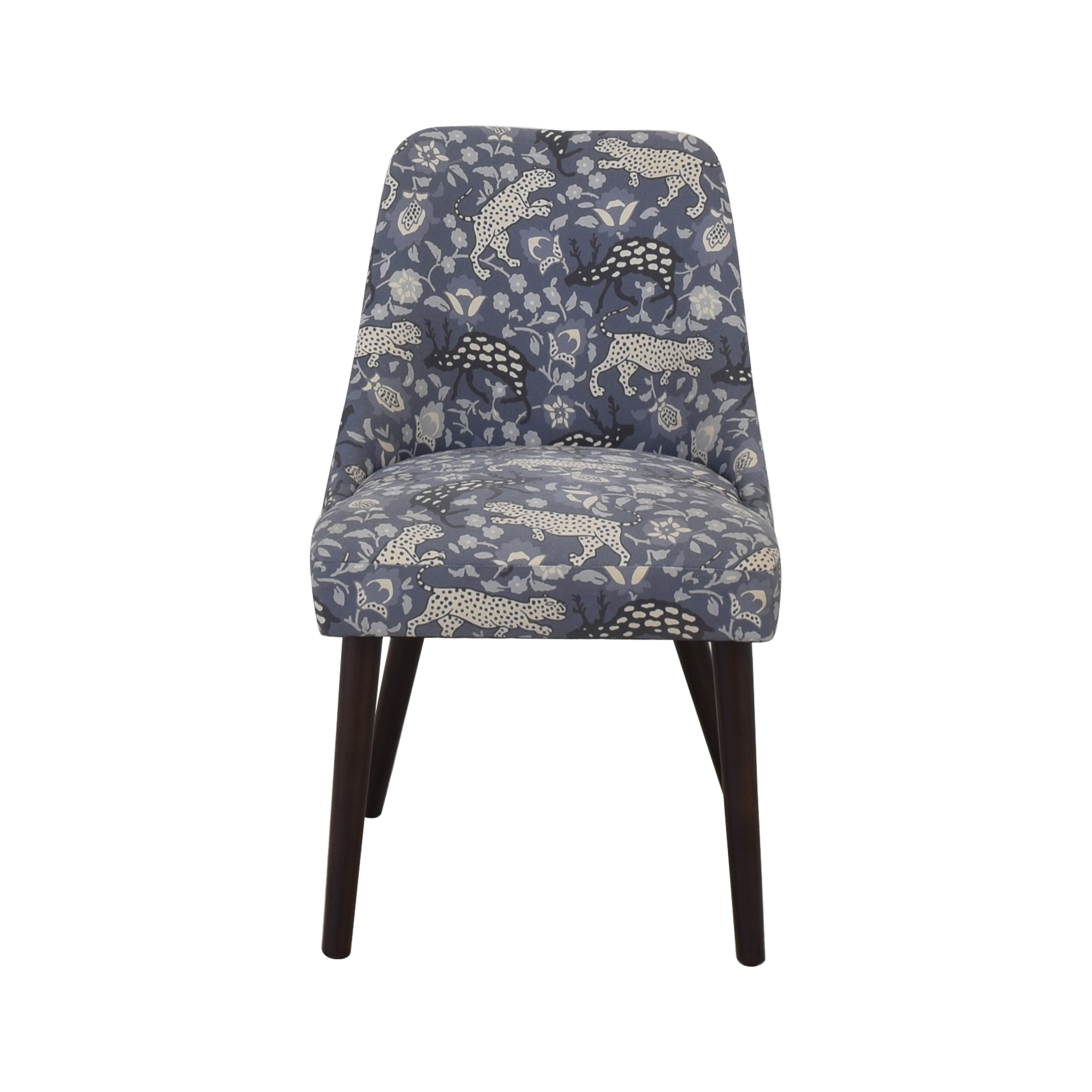 patterned upholstered dining chairs