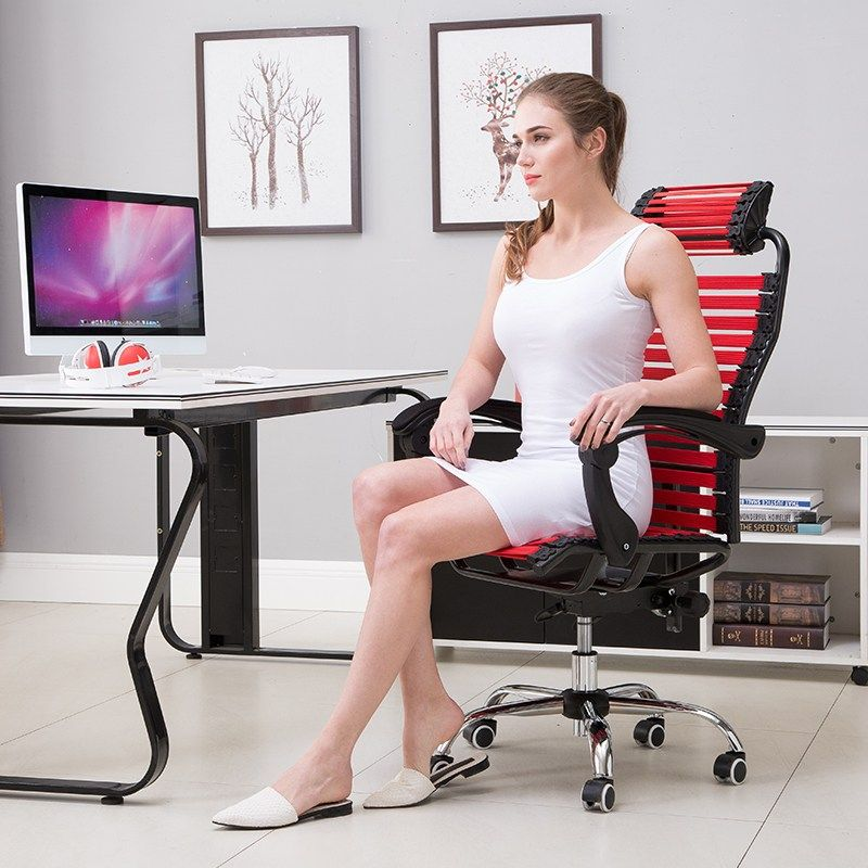 rubber band office chair