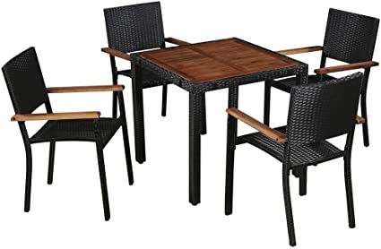 wood outdoor dining chairs