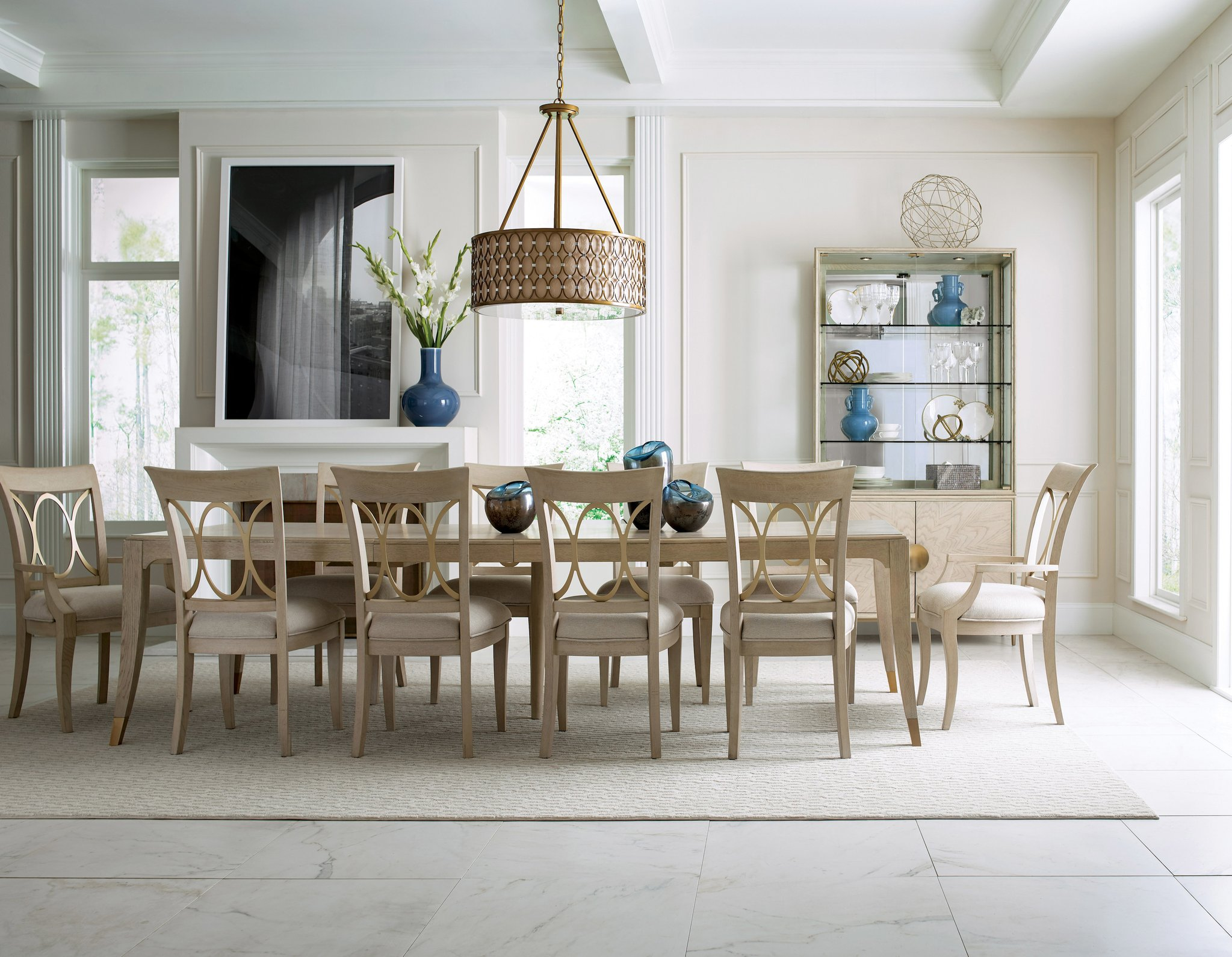 dining table set for 10