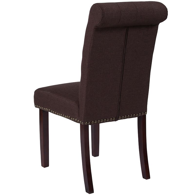fabric parson dining chairs