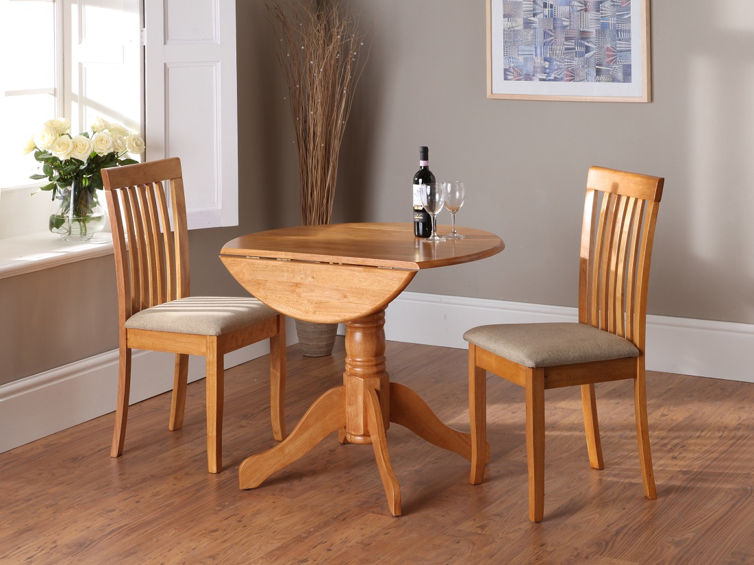 drop down leaf dining table