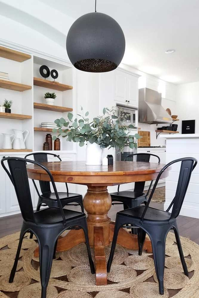 industrial dining table chairs
