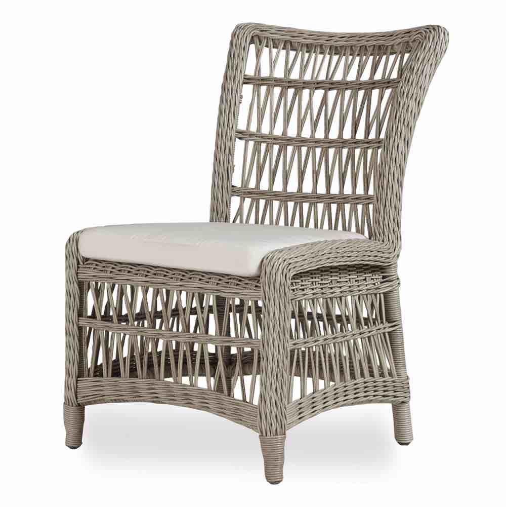 armless outdoor dining chairs