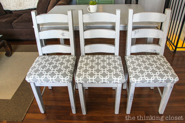 how to recover dining chair cushions