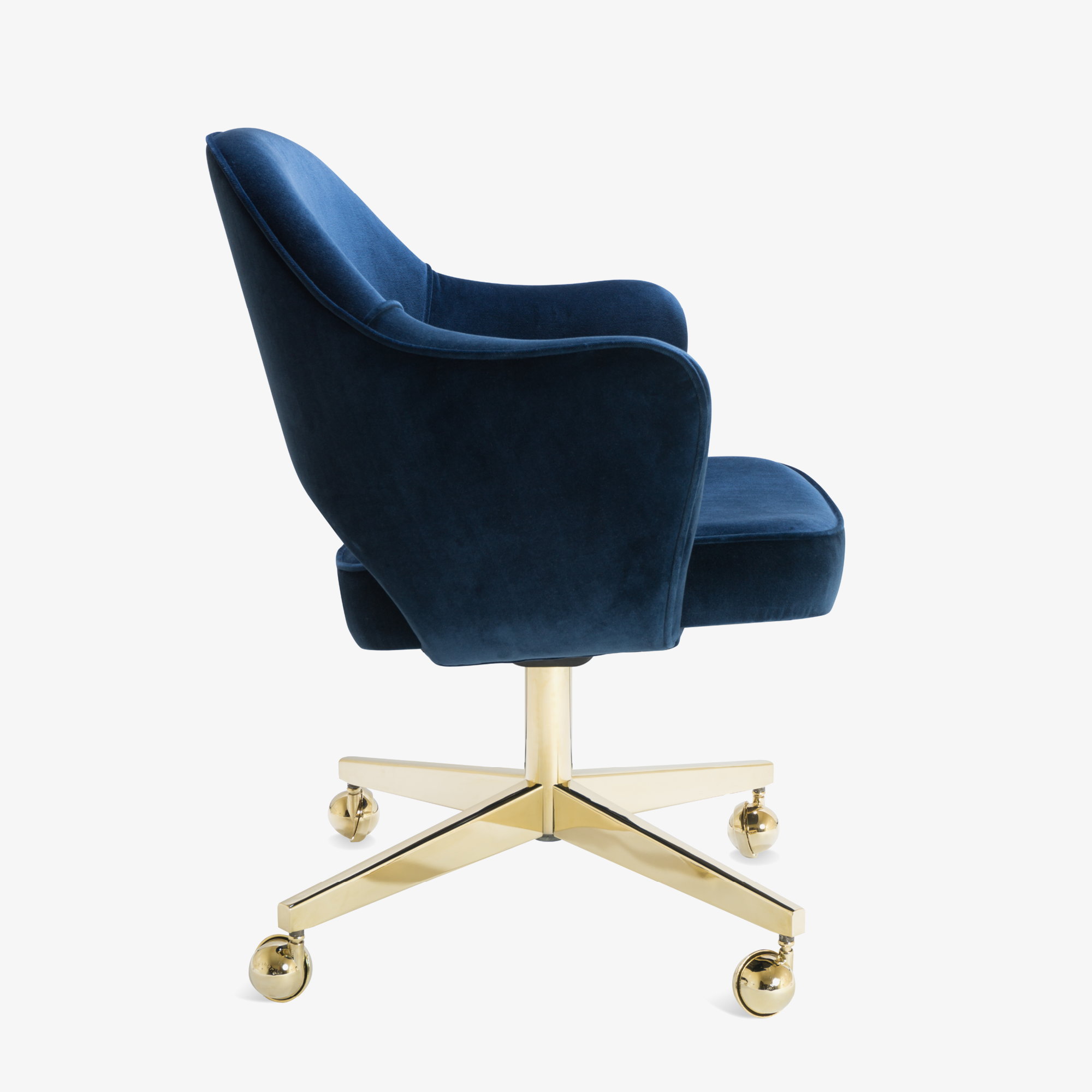 navy blue office chair
