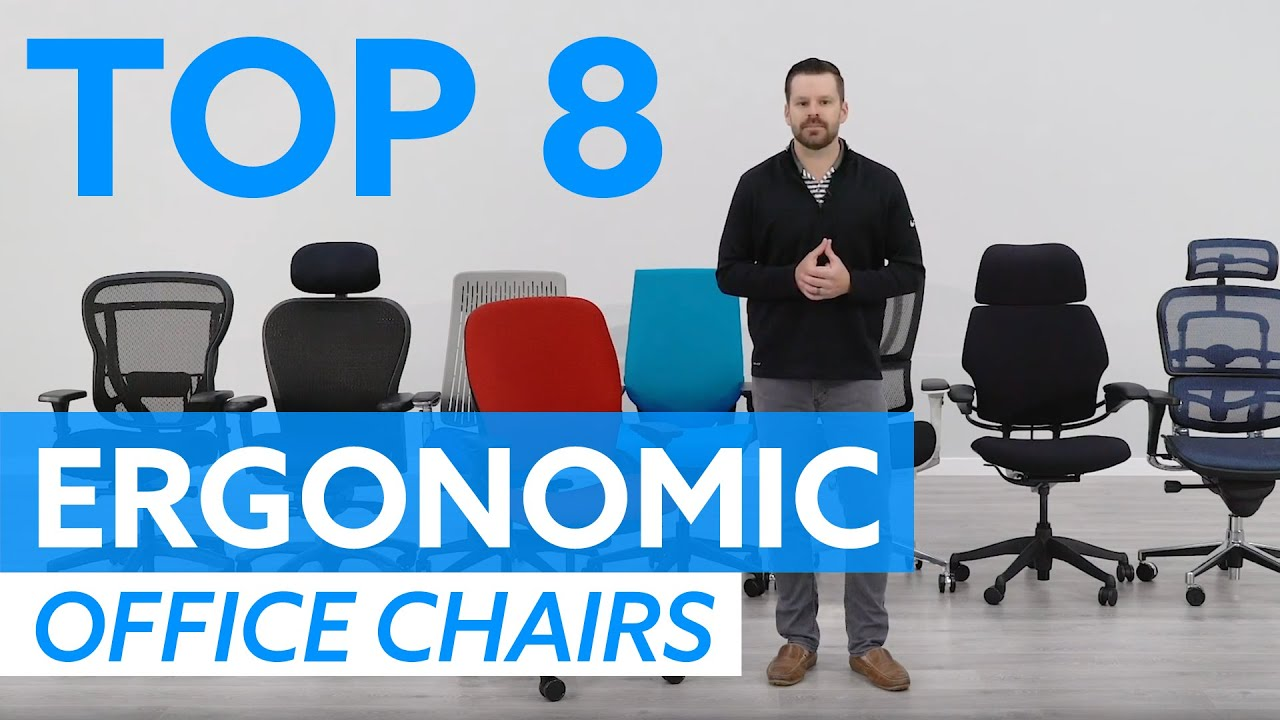 office chairs rated for 8 hours