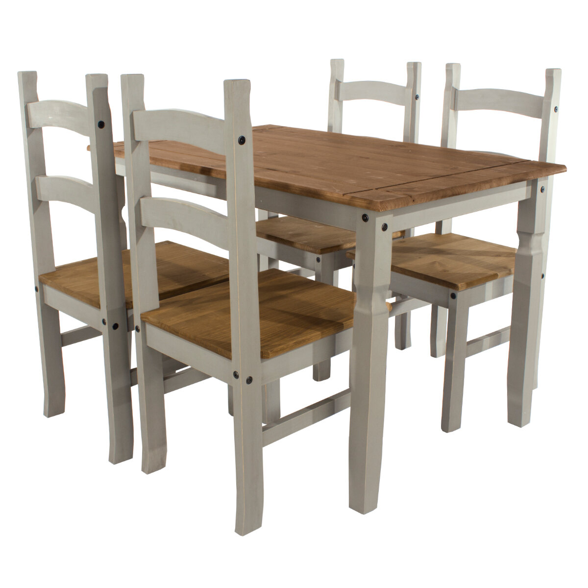 pine wood dining chairs