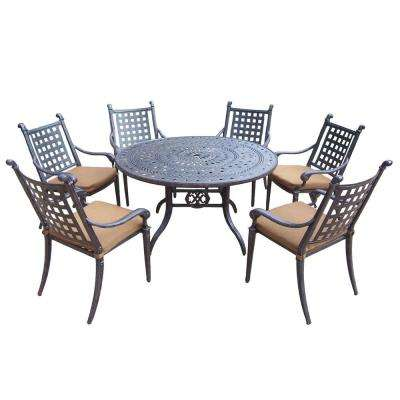 outdoor dining sets for 6 round table