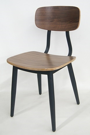metal wood dining chairs