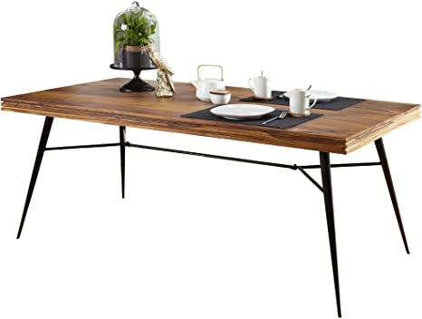 solid hardwood dining table