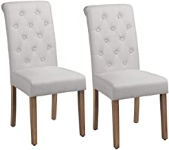 fabric covered dining chairs sale