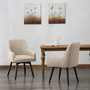 upholstered swivel dining chairs