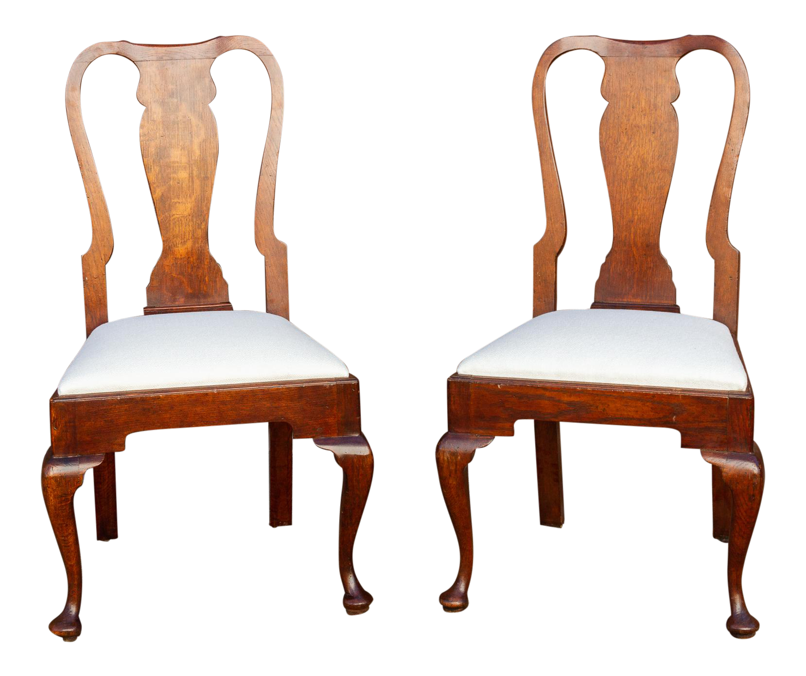 antique english dining chairs