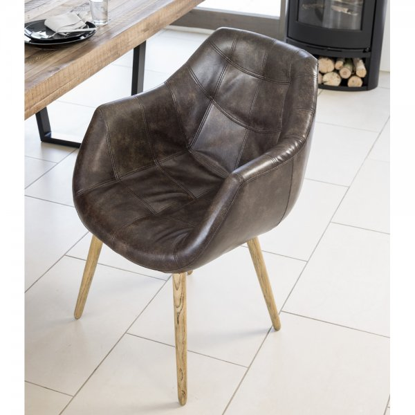 bucket style dining chairs